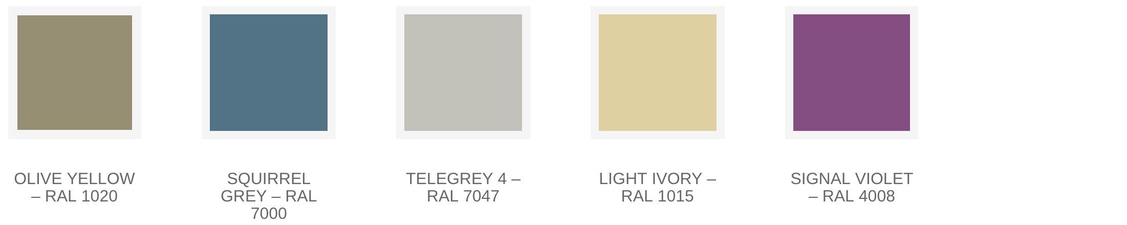 Aluminium Door Colours004