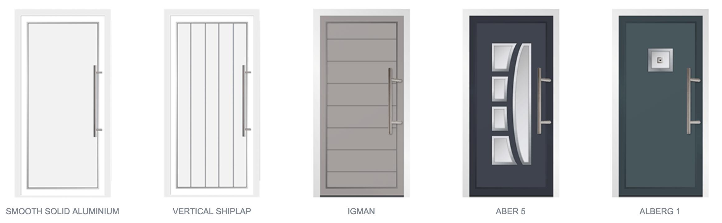 Aluminium Door Styles01