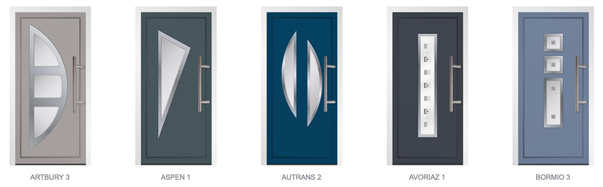 Aluminium Door Styles02