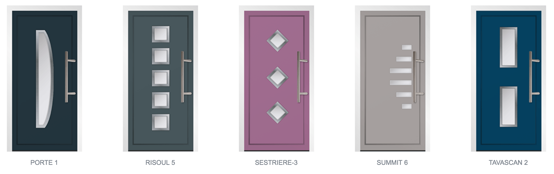 Aluminium Door Styles07