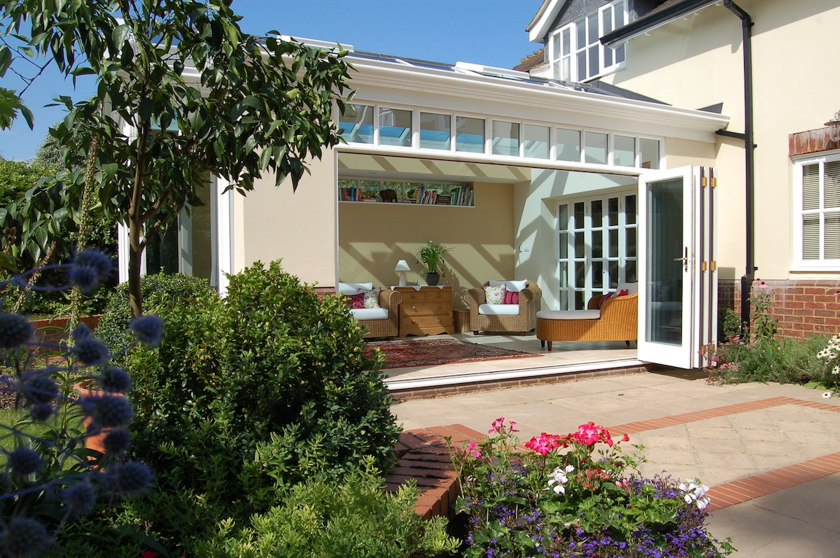 Barrington Orangery Extension Open Doors