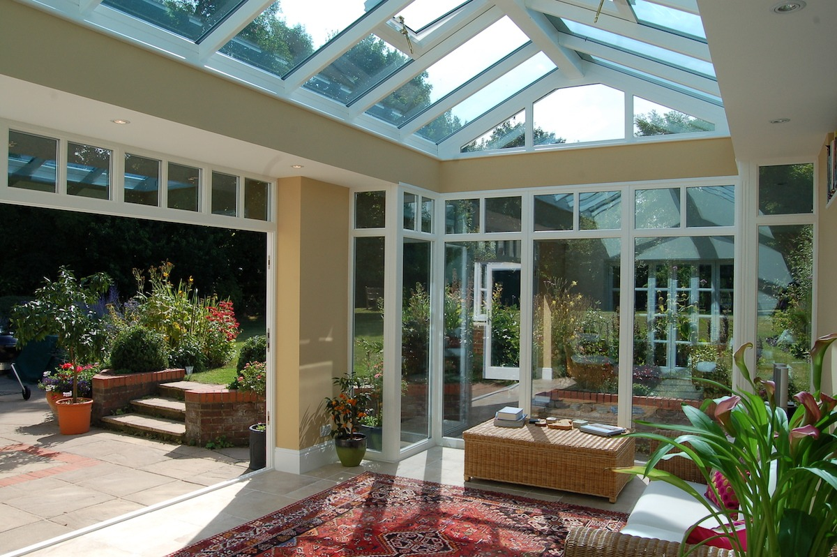 Barrington Orangery Interior Folding Doors