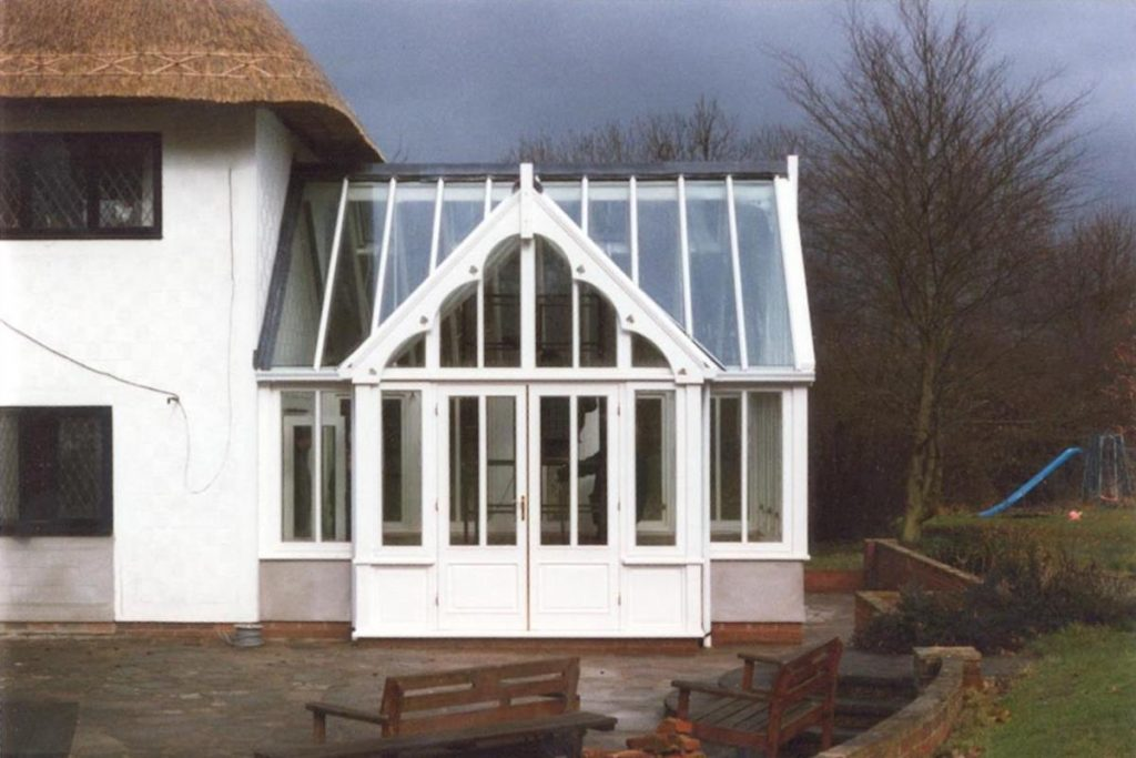 Berden Conservatory Gothic Style