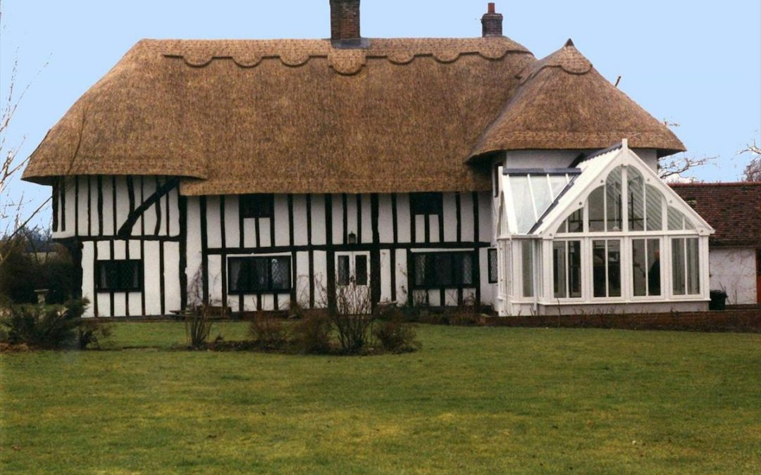Berden Conservatory Extension With Detailing To Match Tudor House
