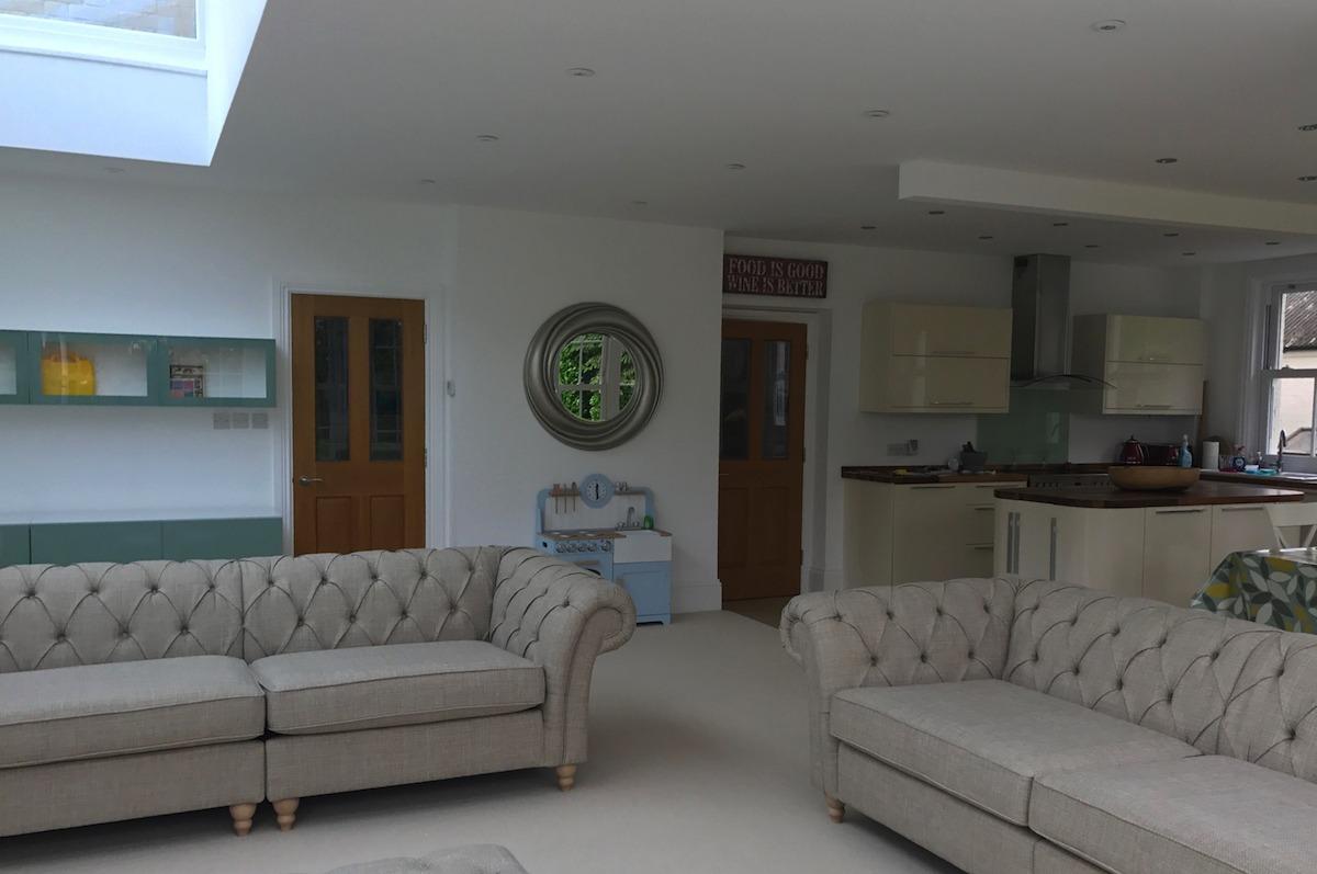 Bespoke Extension Interior