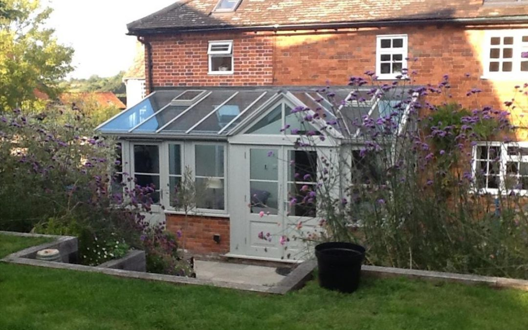 Bourne Lean-To With Gable End Conservatory Extension