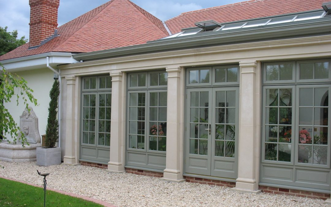 Bury St Edmunds Orangery Extension To Lakeside Home