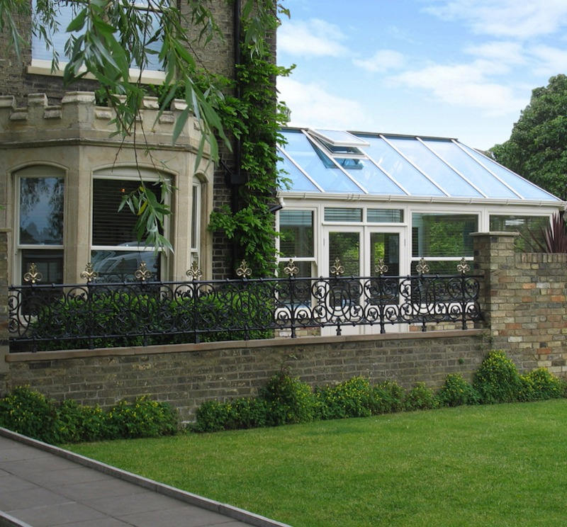 Conservatory renovation for commercial premises, Midsummer House, Daniel Clifford, Cambridge restaurant