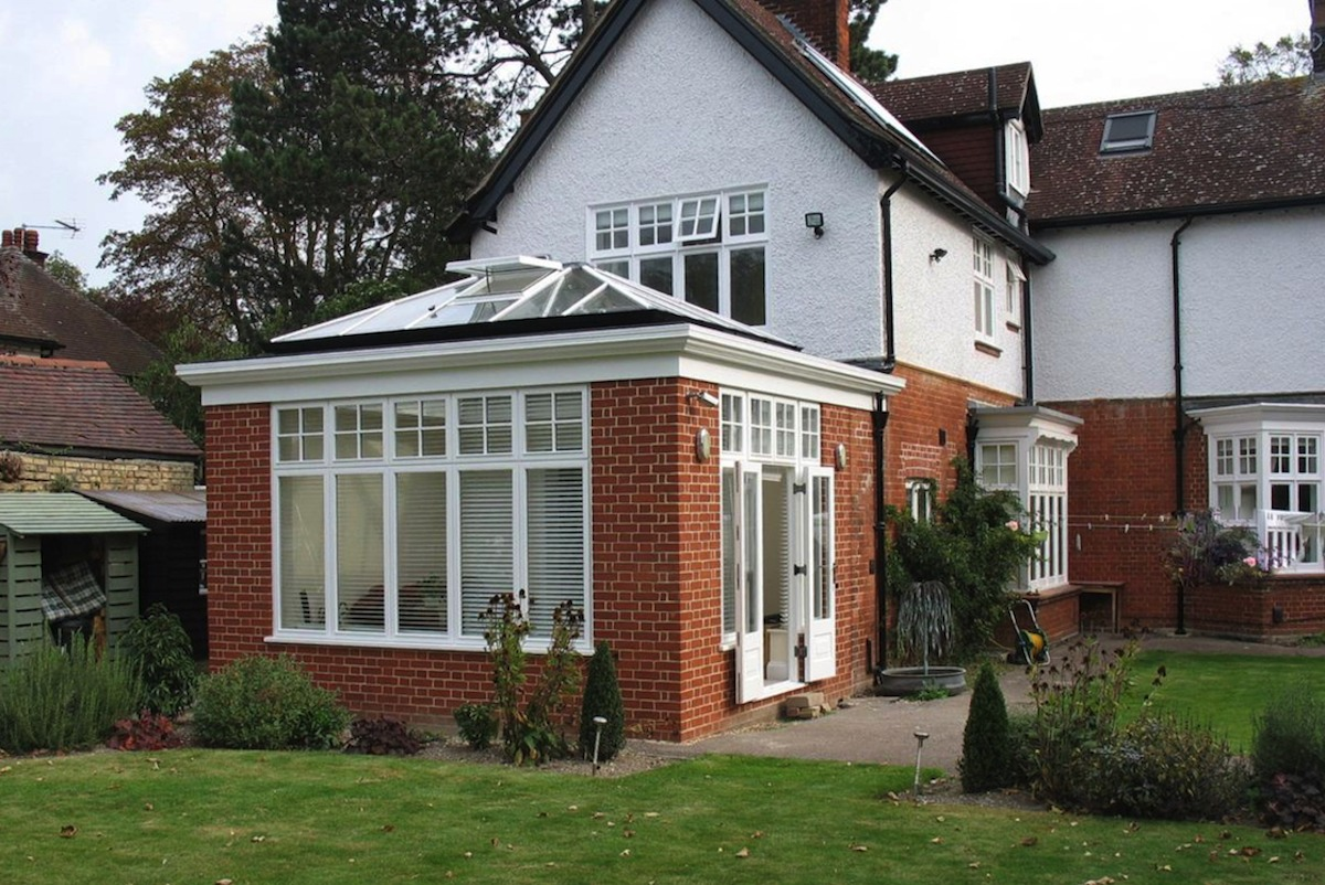 Cambridge Orangery Extension