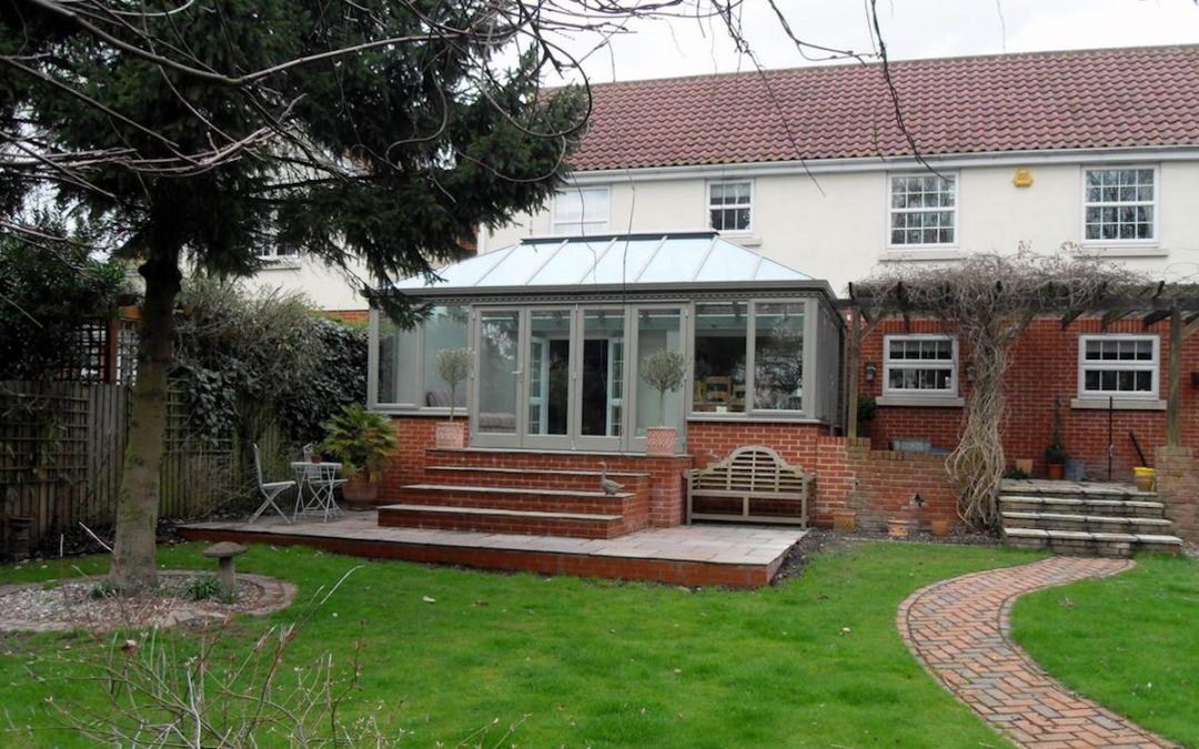 Chelmsford Conservatory Extension To Match Existing Pergola