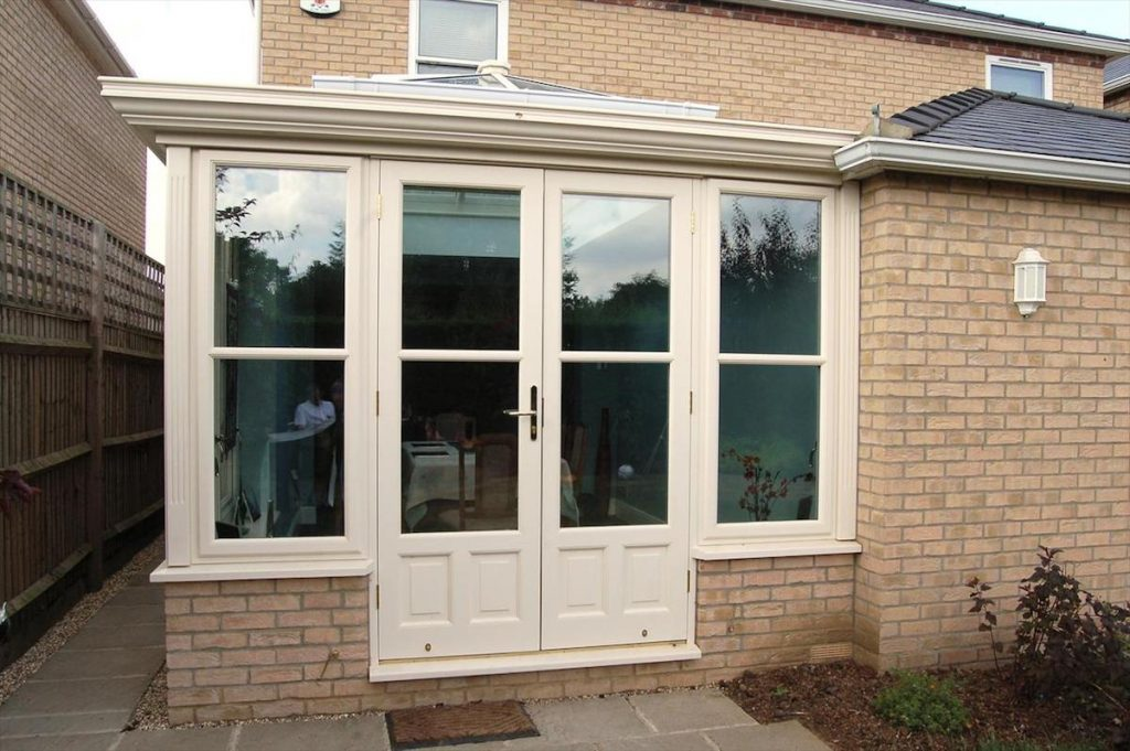 Cottenham Orangery Dining Room Addition to Match contemporary home