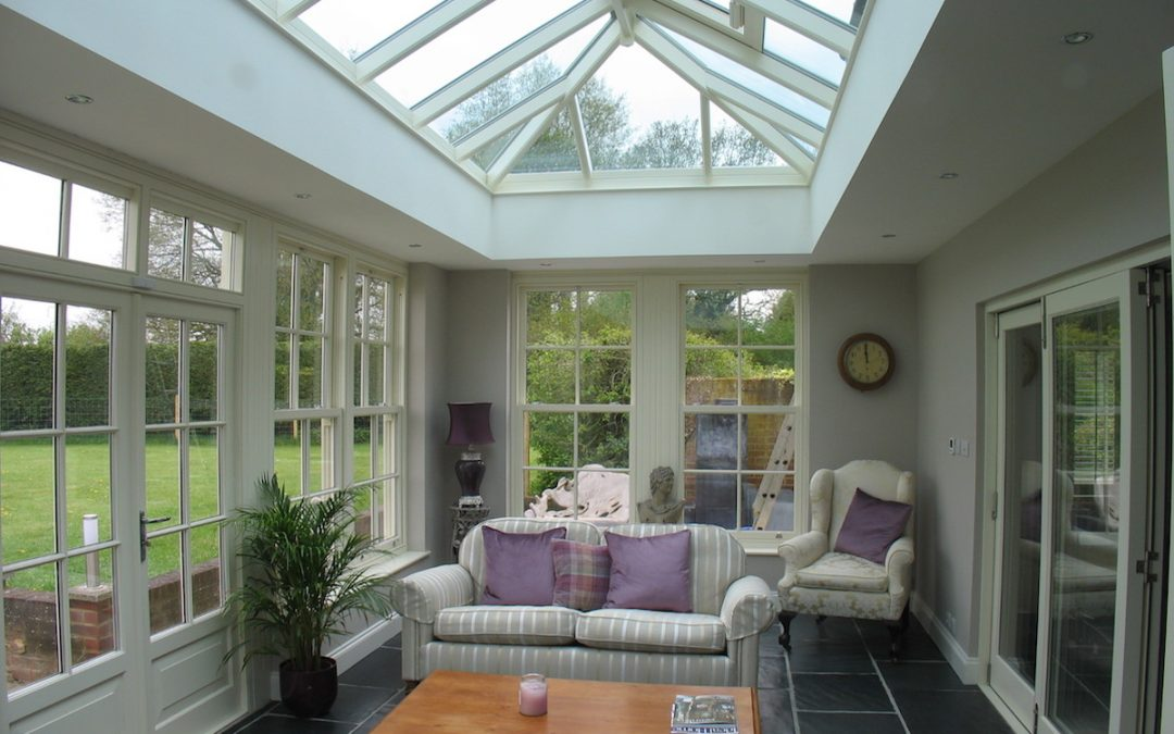 Rickling Green Orangery Transforms Traditional Home