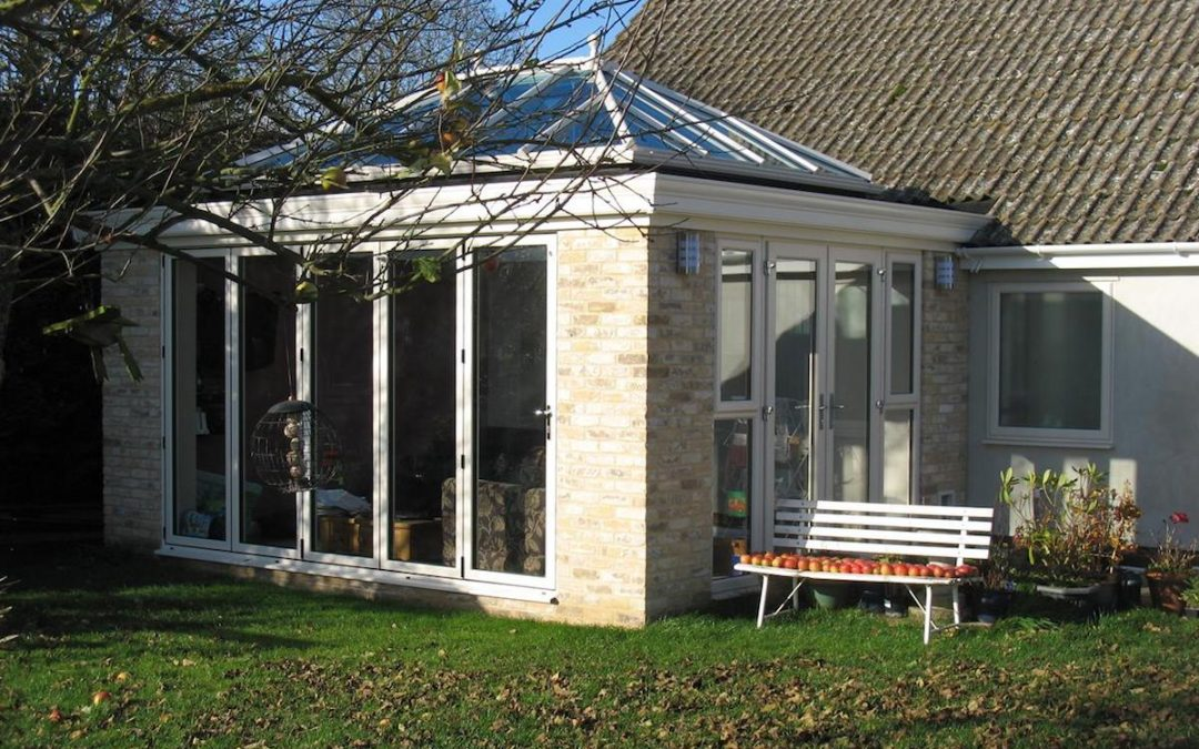 Fabulous Fowlmere Orangery Brings Life To 70's Bungalow