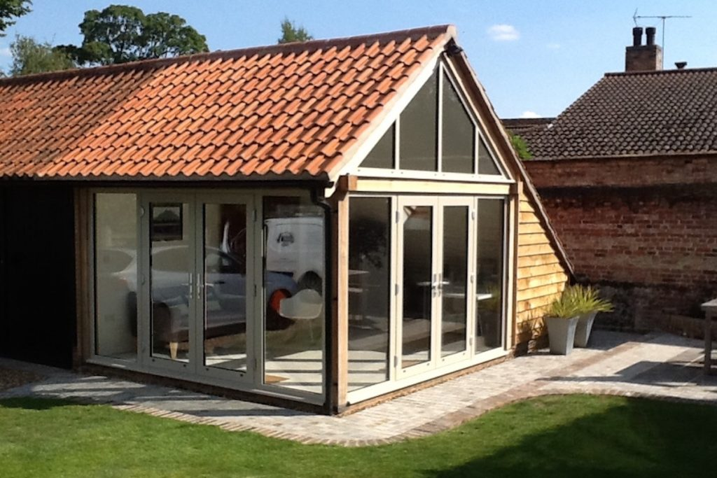 Fulbourn Garden Room Glazing