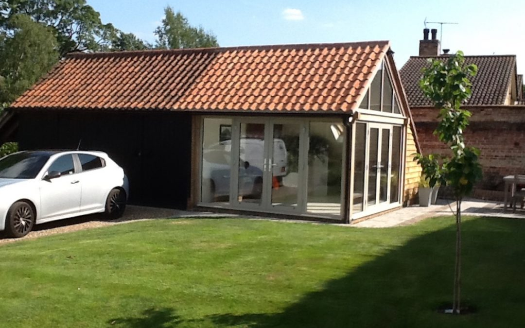 Fulbourn Garden Room Garage Extension