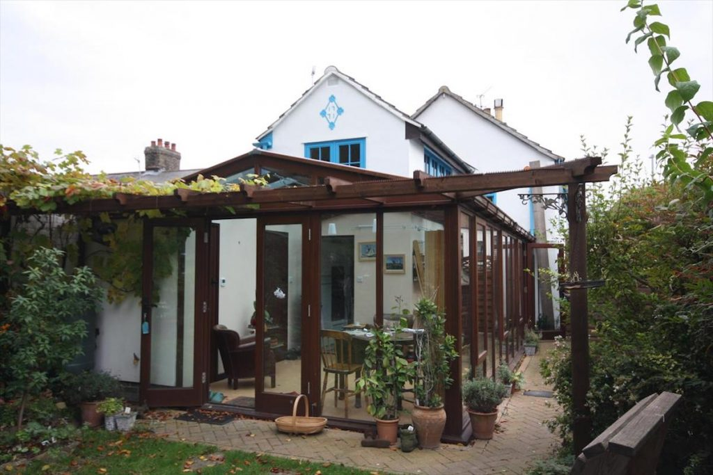 Great Shelford Oak Conservatory and Pergola