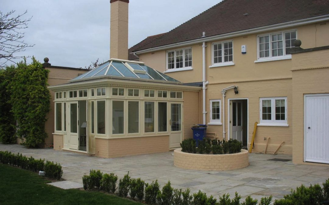 Newmarket Orangery Sitting Room Extension Is Well In Hand