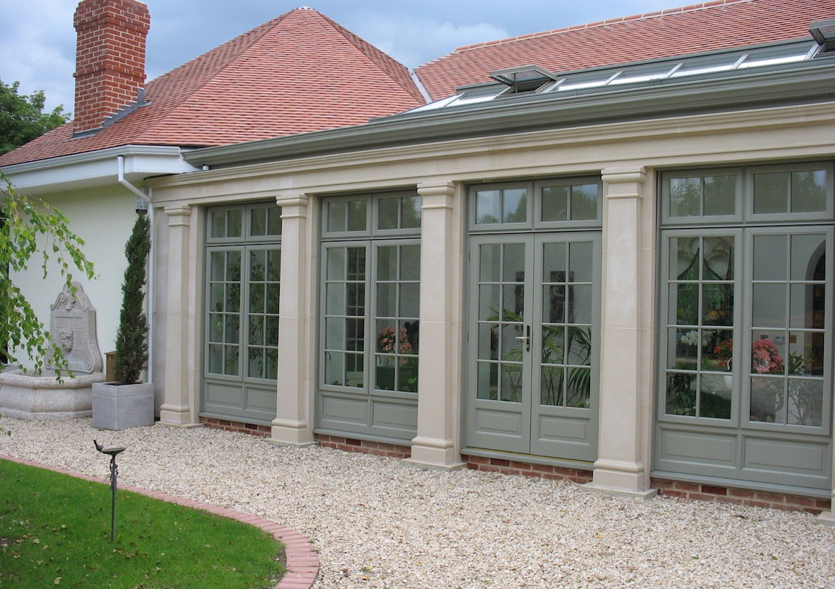 Traditional Orangery Garden Room Extension