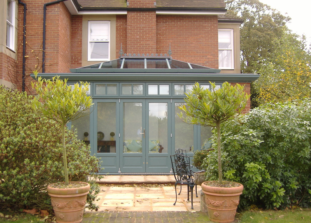 Orangery Extension Dix Blue
