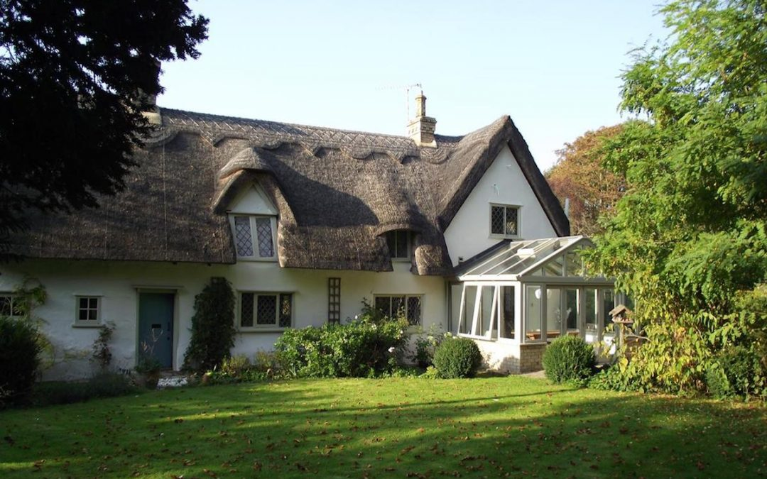 Shepreth Thatched Roof Grade II Listed Conservatory Extension