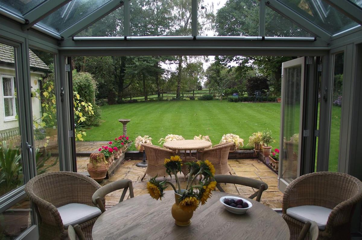 Therfield Conservatory Extension