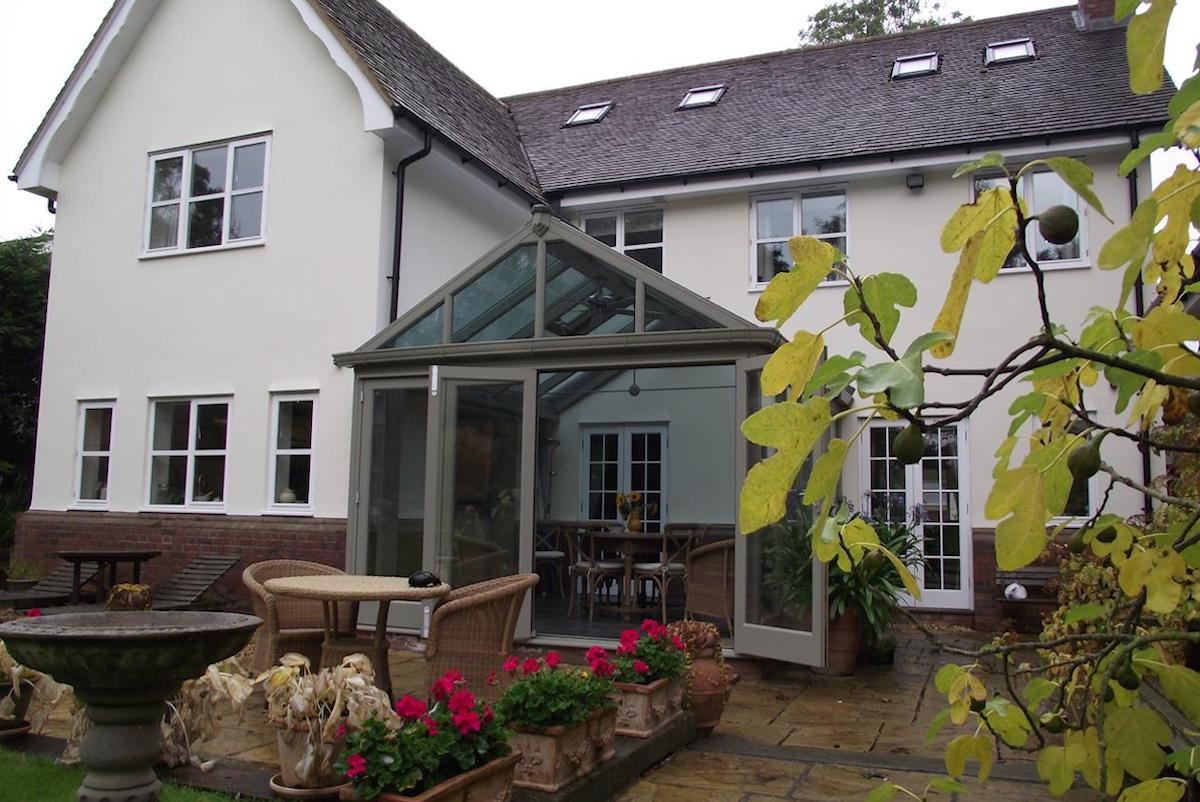 Therfield Conservatory Extension Exterior