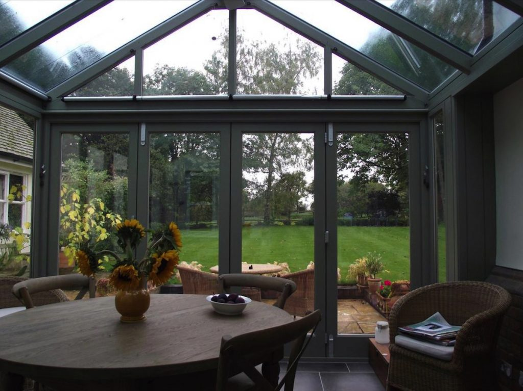Therfield Conservatory Interior