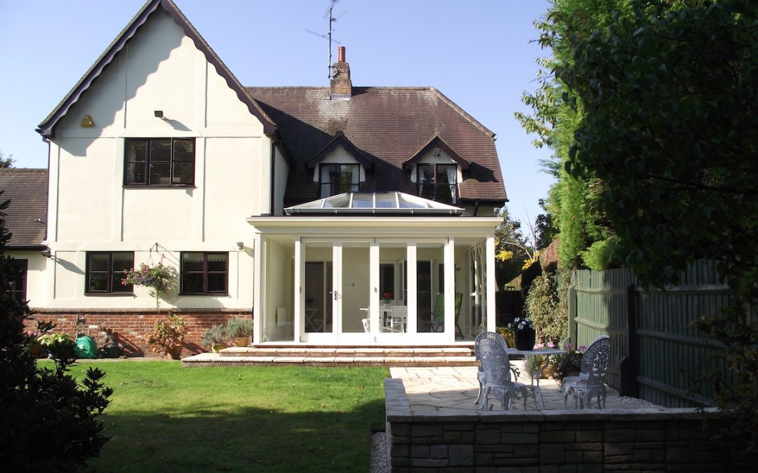 Contemporary Orangery Addition To Traditional Chelmsford Home