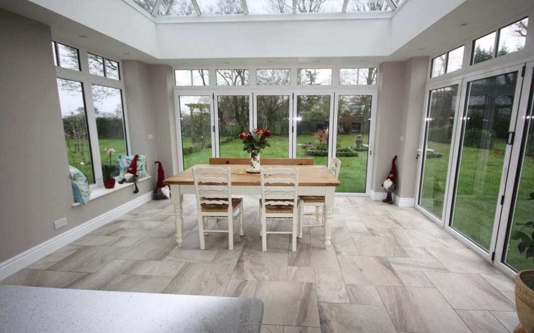 Bishop Stortford Orangery Kitchen Extension In Henham