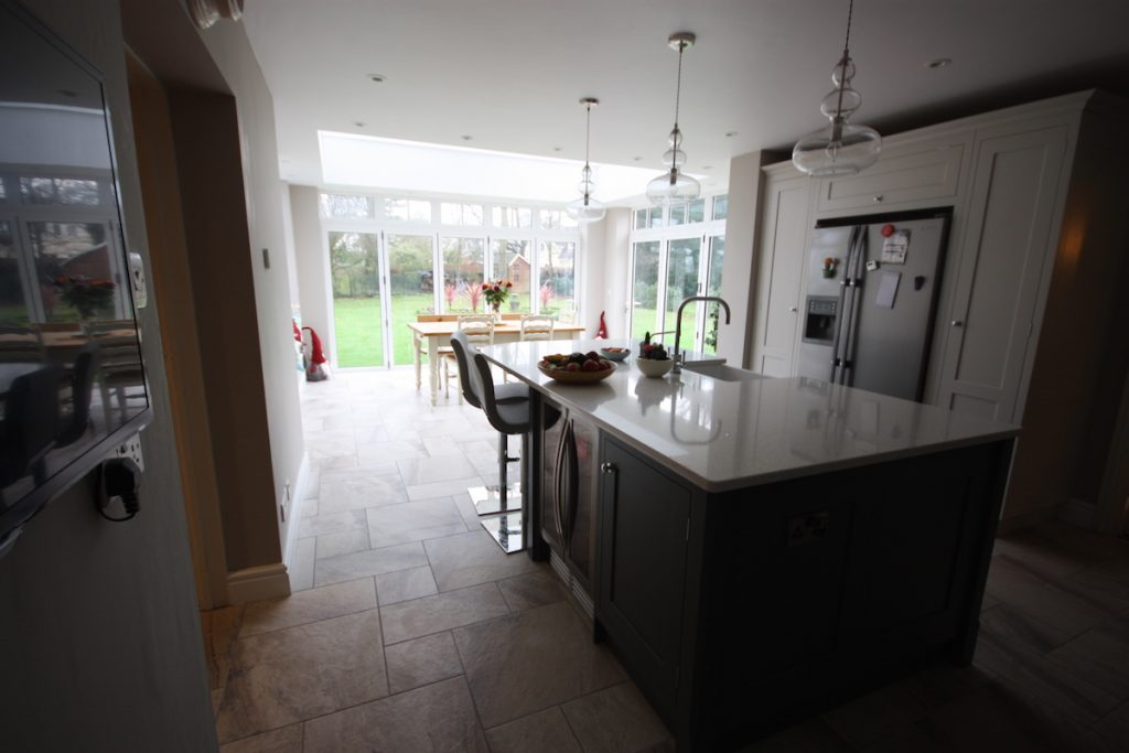 Bishop Stortford Orangery Kitchen Interior