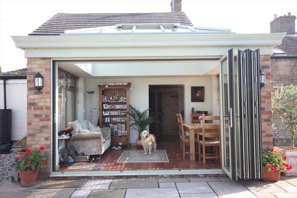 Doddington Orangery Folding Doors