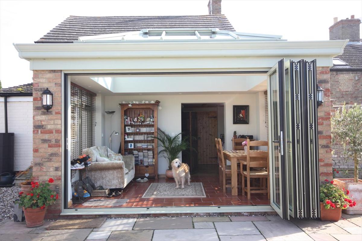 Doddington Orangery Folding Doors
