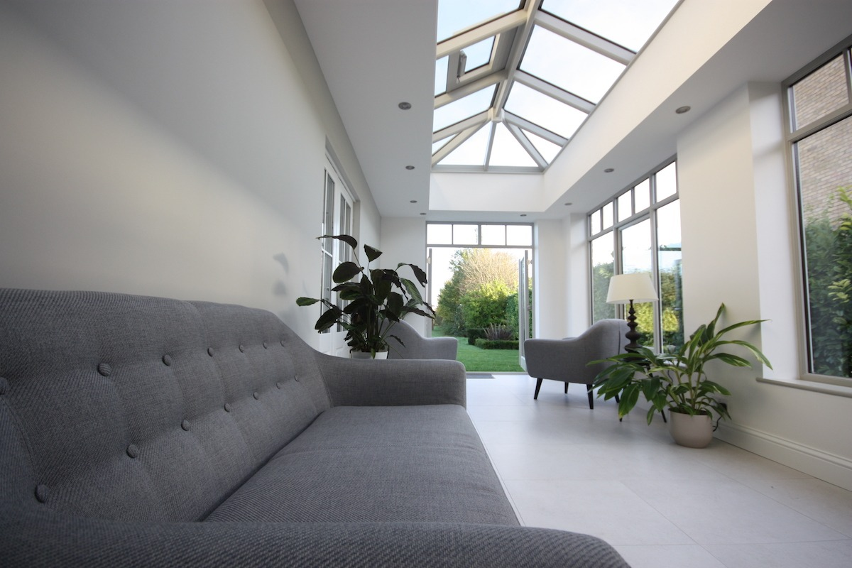 Great Shelford Orangery Interior with Lantern Roof