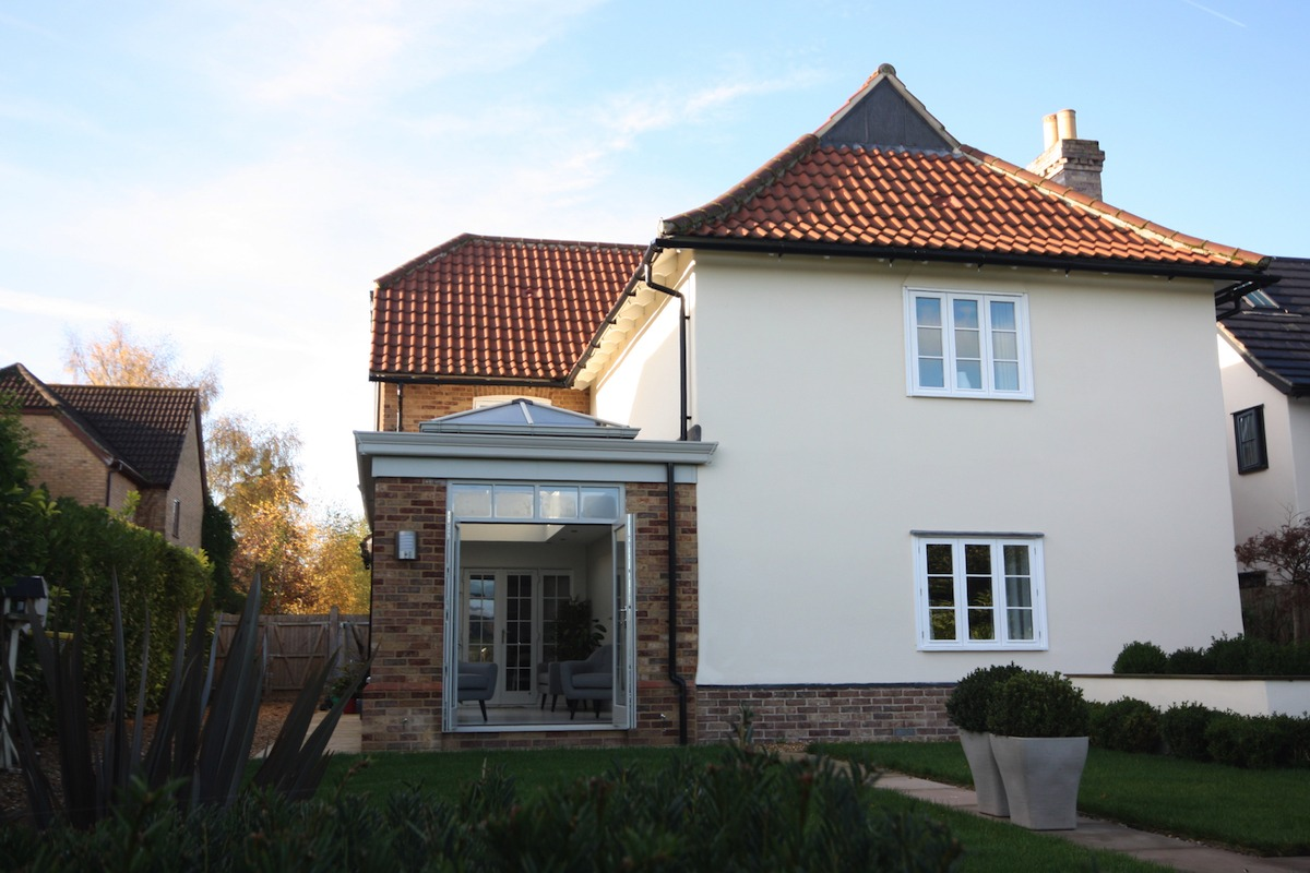 Great Shelford Orangery Exterior