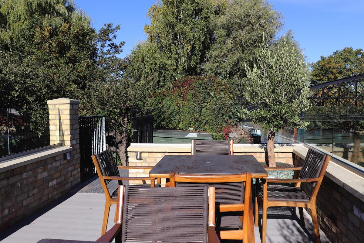 Midsummer House Outdoor Terrace