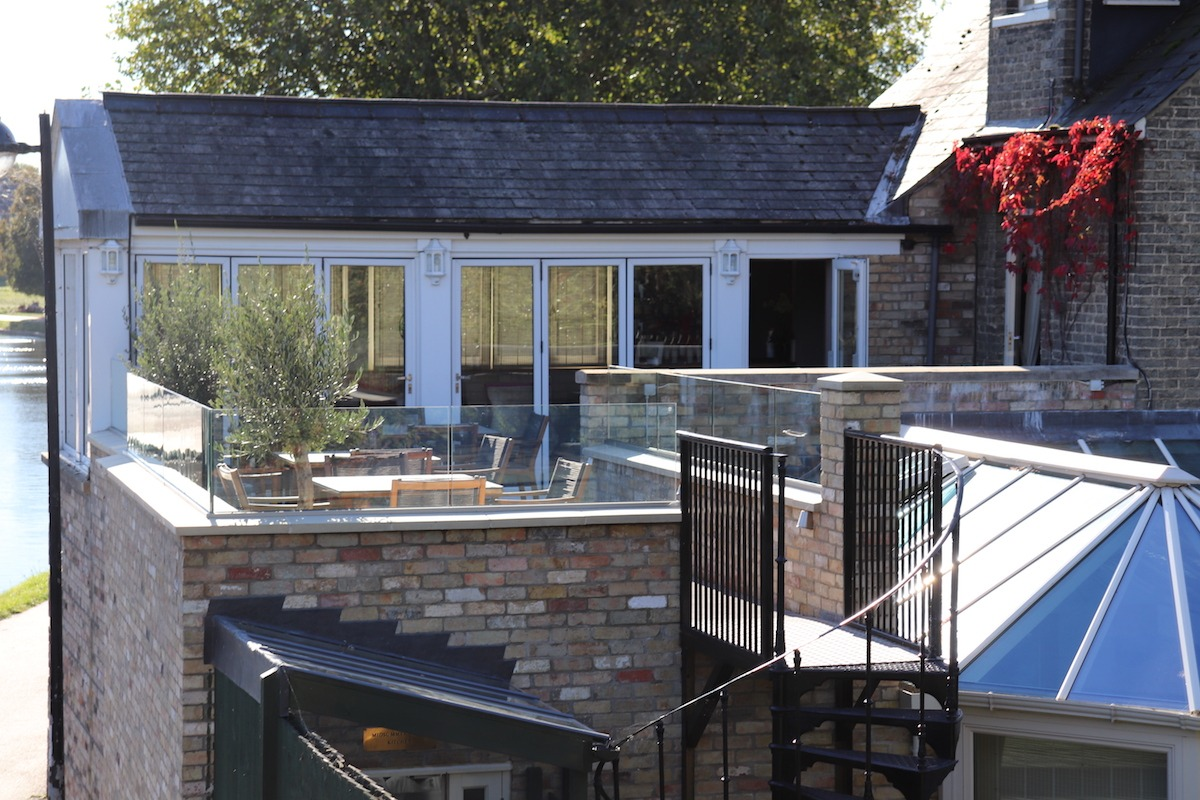 Midsummer House Terrace