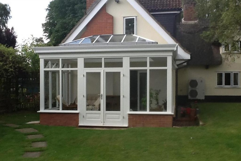 Risby Orangery with French Doors