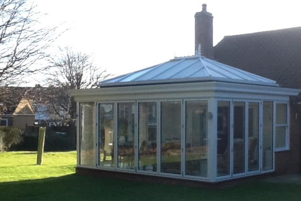 Stansted Orangery Folding Doors