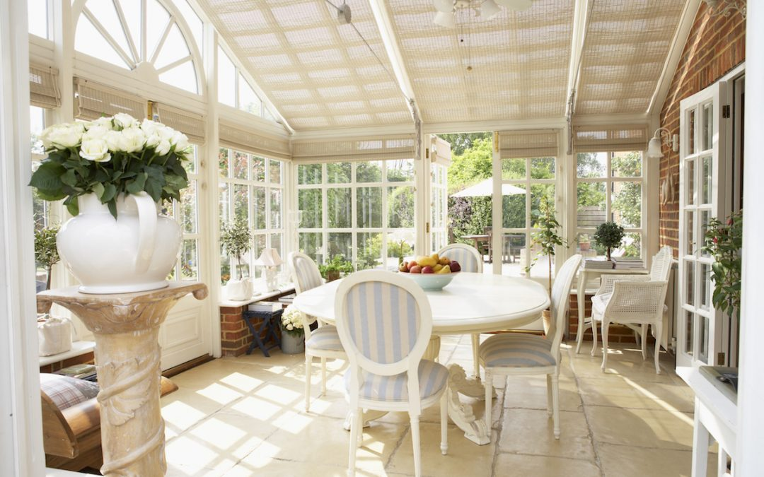 Interior Of Modern Conservatory